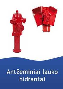 Hidrantai, antžeminiai, atstatomasis variantas, C9